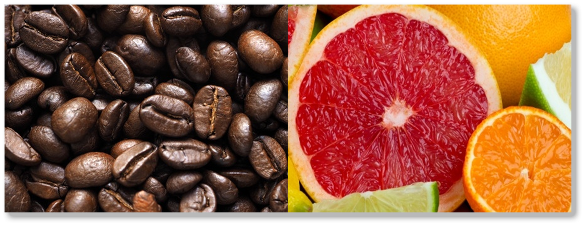 Fruit and coffee fundraiser